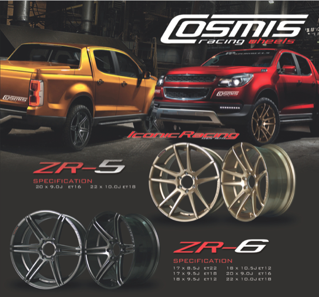 Review COSMIS RACING WHEEL Iconic Racing